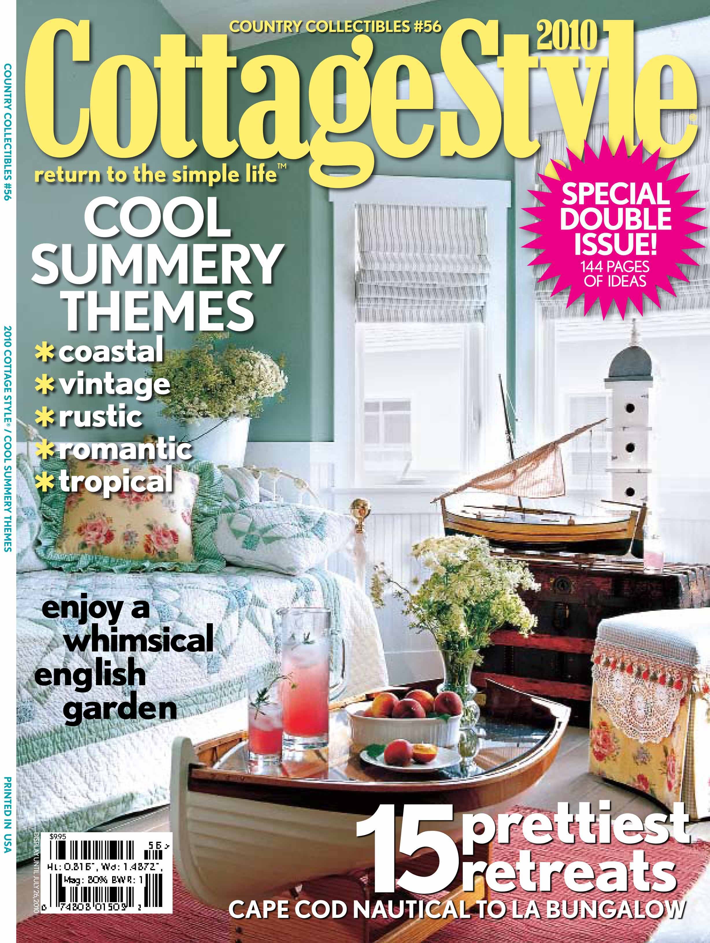 Top 28 cottage style magazine cottage style magazine for Cottage design magazine